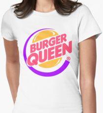 Burger Queen Womens Fitted T-Shirt