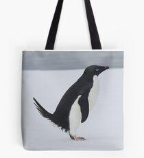 Penguin Pooping Tote Bag
