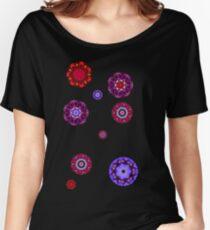 flowers mandala Women's Relaxed Fit T-Shirt