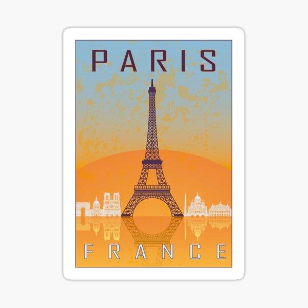 Paris vintage poster Sticker