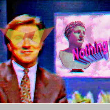 Vaporwave News Anchor by pkbrendan