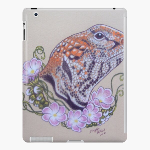 Uromastyx Flowers iPad Snap Case