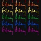 Hillary Signature Rainbow by queeradise