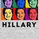 Hillary Pop Art by queeradise