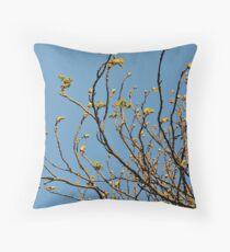 Springing Throw Pillow