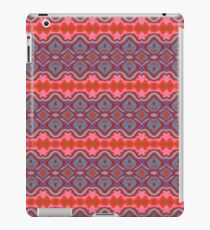 Summer Splash - Coral and Blue iPad Case/Skin