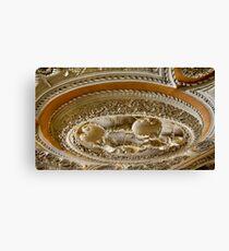 Astley Hall ceiling Canvas Print