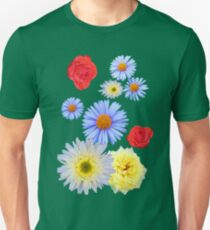 Colorful flowers like living T-Shirt