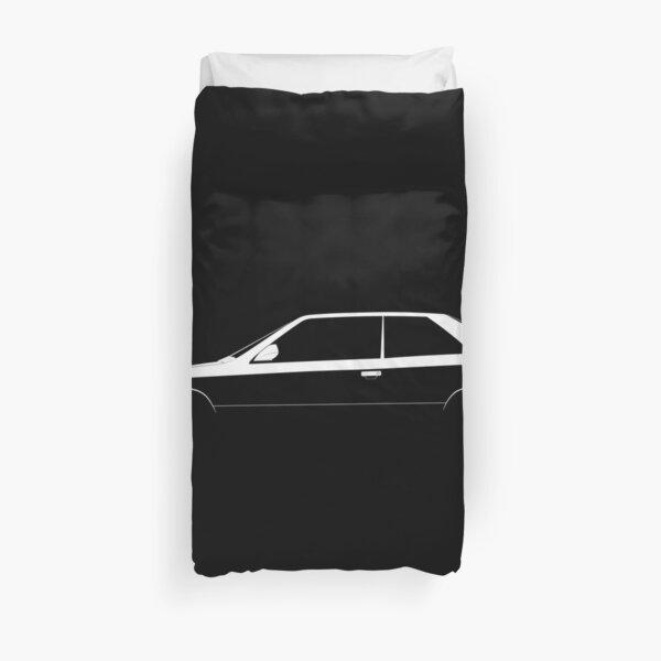 Coupe Maserati Ghibli Silhouette Housse de couette