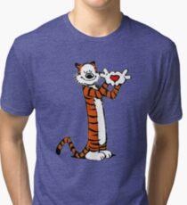 Calvin and Hobbes Love Tri-blend T-Shirt