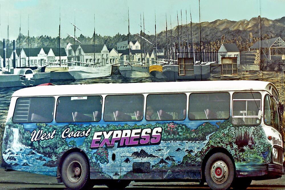 West Coast Express - New Zeeland by Arie Koene