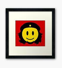 Che Guevara Smiley No.2 Framed Print