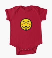 Anonymous Vendetta Smiley One Piece - Short Sleeve