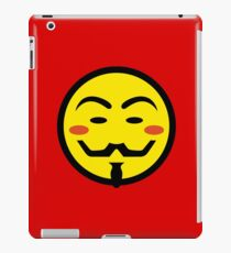 Anonymous Vendetta Smiley iPad Case/Skin