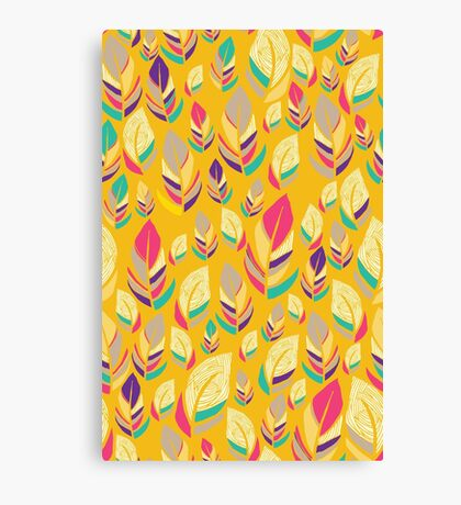 Dancing Feathers Canvas Print