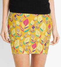 Dancing Feathers Mini Skirt