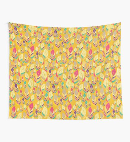 Dancing Feathers Wall Tapestry