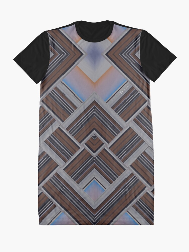 Alternate view of Downtempo | Low BPM | Paris | Cold Dawn Graphic T-Shirt Dress