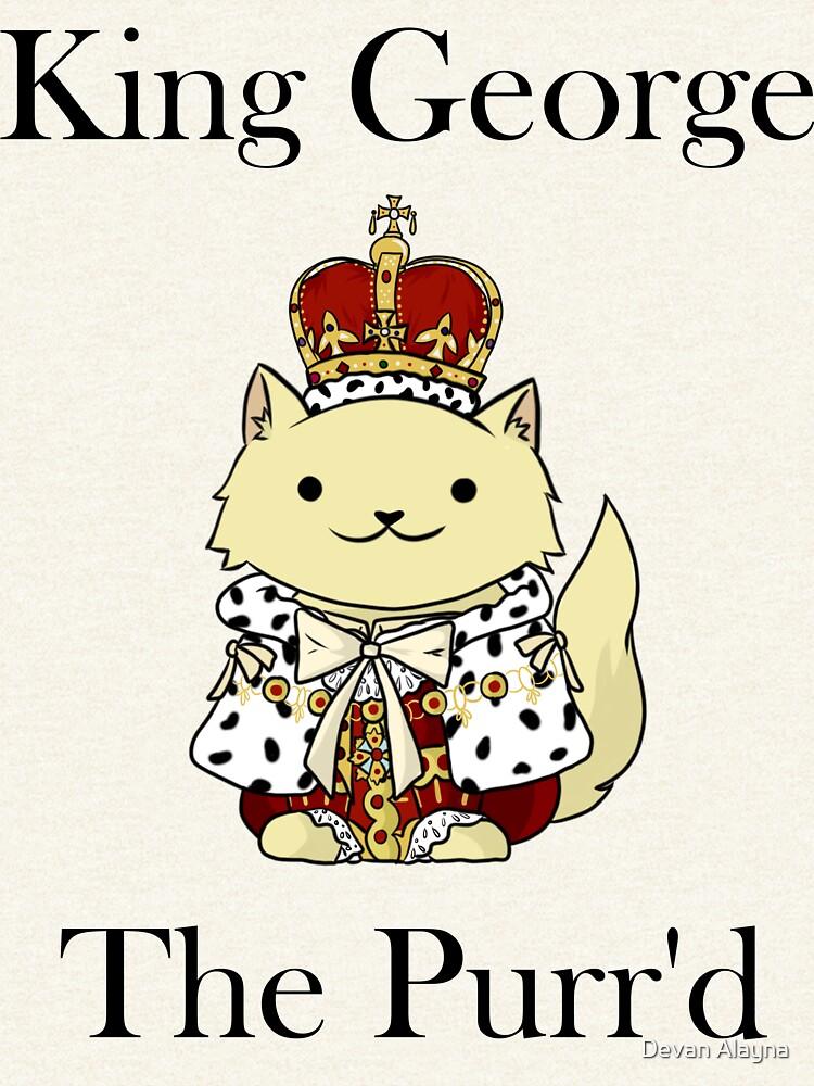 El rey Jorge el Purr'd de itsjohnlock