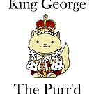 King George the Purr'd by itsjohnlock