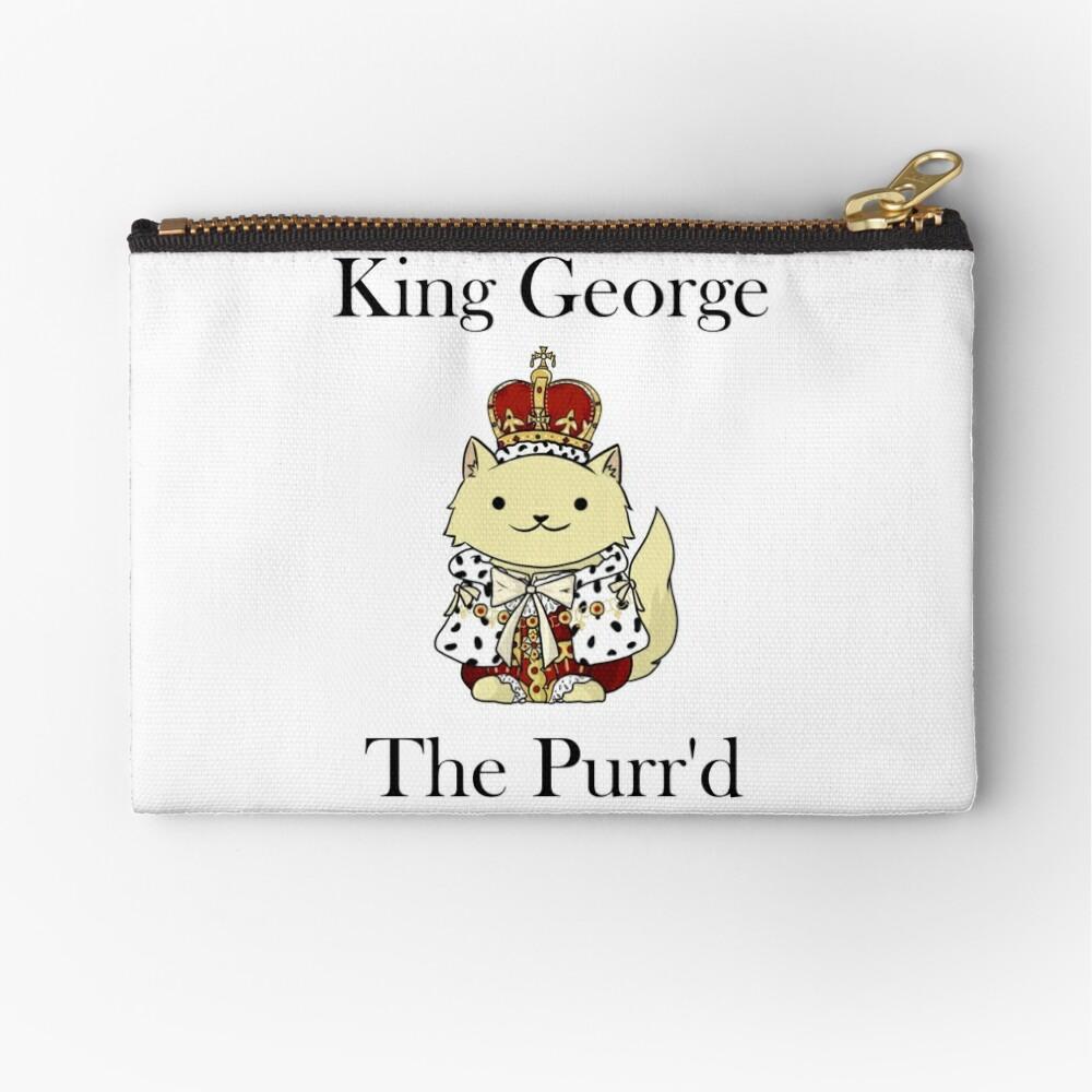 El rey Jorge el Purr'd Bolsos de mano