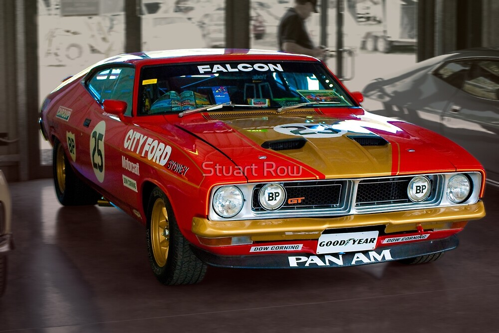 Allan Moffat City Ford replica by Stuart Row