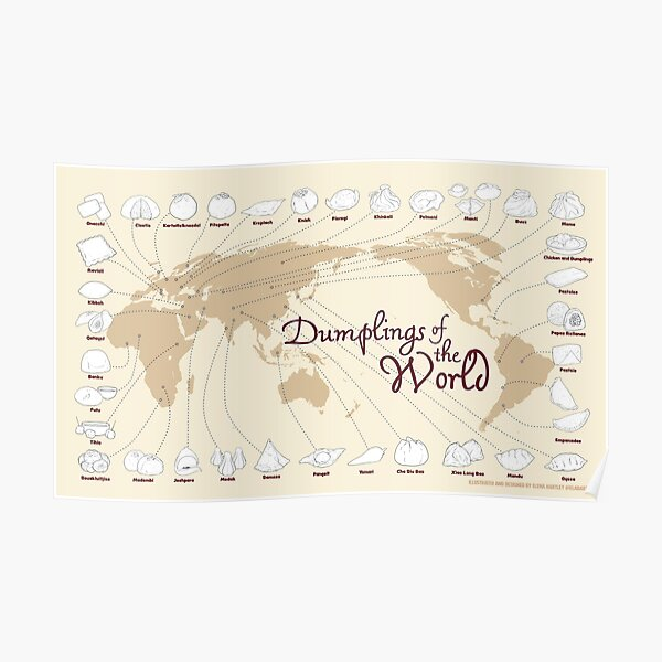 Dumplings of the World Poster