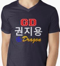 ♥♫Big Bang G-Dragon Cool K-Pop GD Clothes & Stickers♪♥ Men's V-Neck T-Shirt