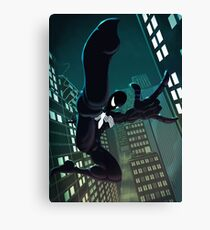 Spider - Black suit Canvas Print