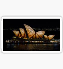 Mosaic Sails - Sydney Opera House - Sydney Vivid Festival Sticker