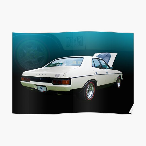 Ford Falcon XB 351 GT Poster