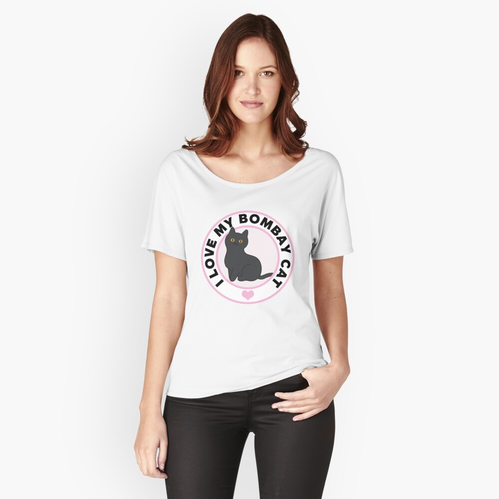 Bombay Cat Lover T-Shirts Women's Relaxed Fit T-Shirt Front