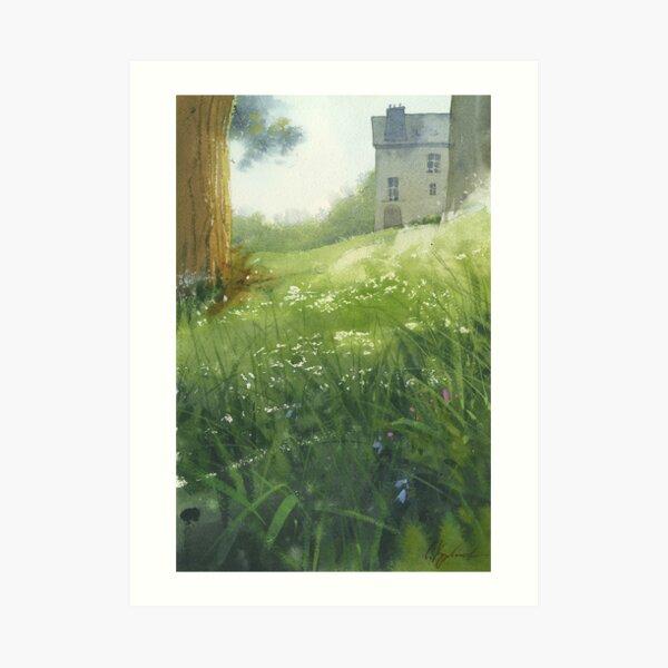 House in Morlaix Art Print