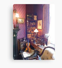 221B Baker Street Details Canvas Print