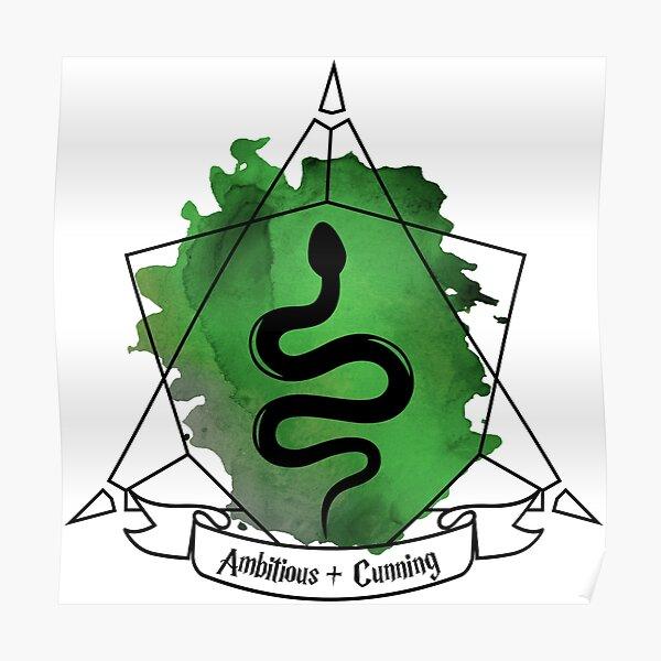 Snake Serpent Emblem Ambitious Cunning T-Shirt Sticker Phone Case Poster