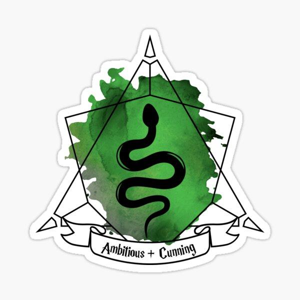 Snake Serpent Emblem Ambitious Cunning T-Shirt Sticker Phone Case Sticker