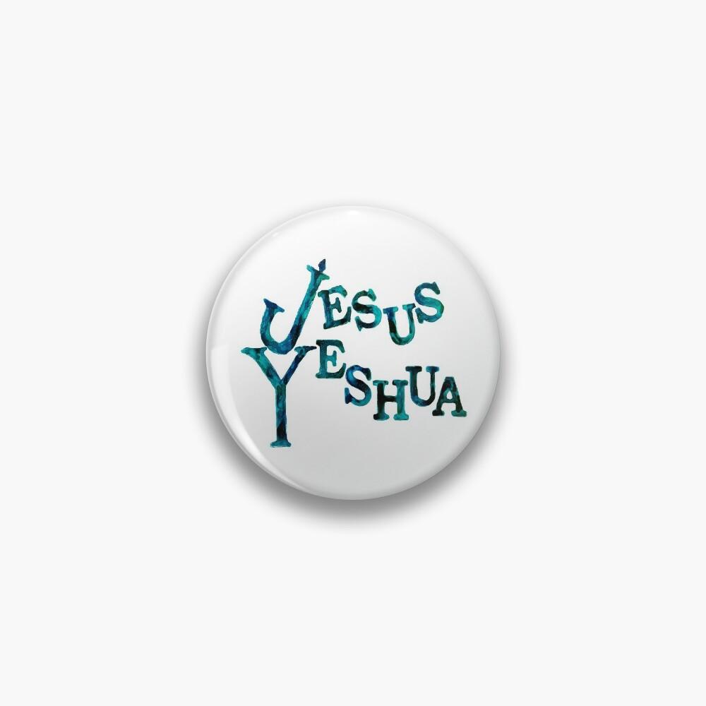 Jesus Yeshua Pin