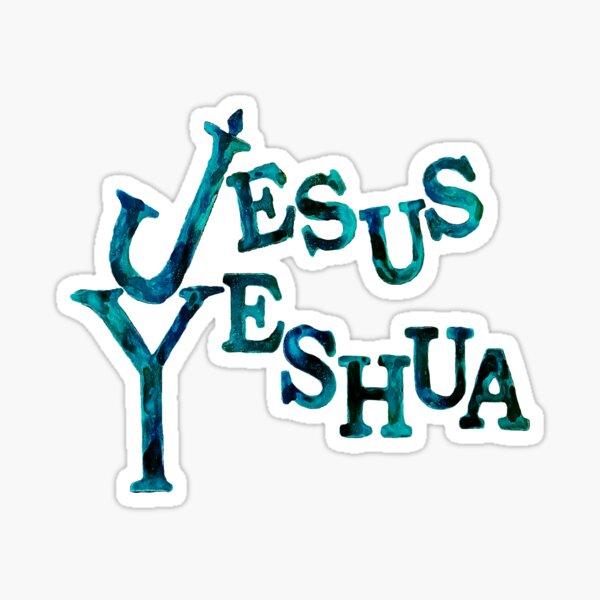 Jesus Yeshua Sticker