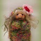 Handmade needle felted creation from Teddy Bear Orphans by Penny Bonser