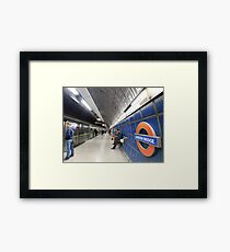 London Bridge's Underground Framed Print