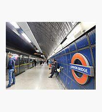 London Bridge's Underground Photographic Print