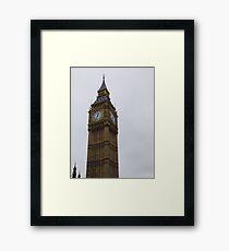 Big Ben in London Framed Print