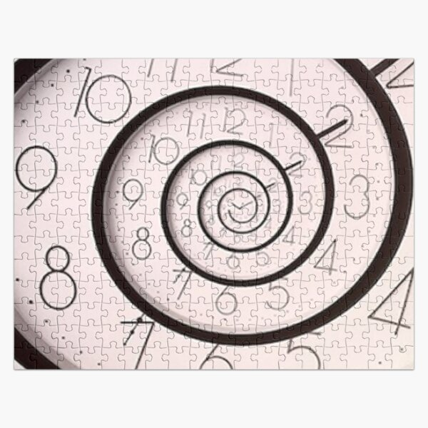 Droste Effect, Time Spiral Jigsaw Puzzle