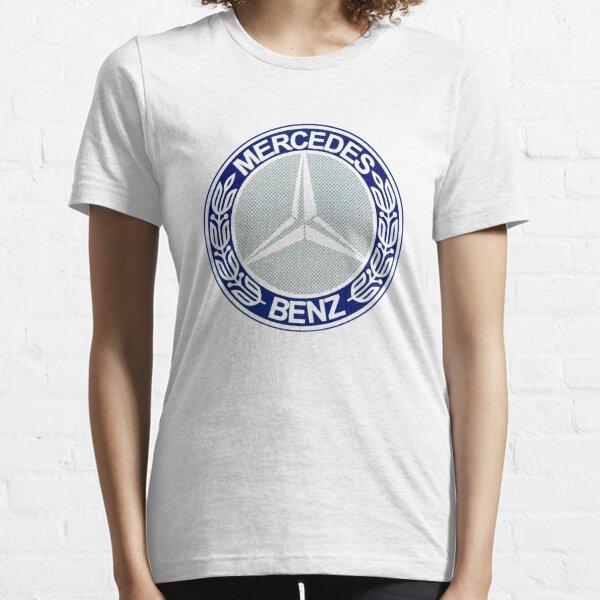 cercle bleu merci T-shirt essentiel
