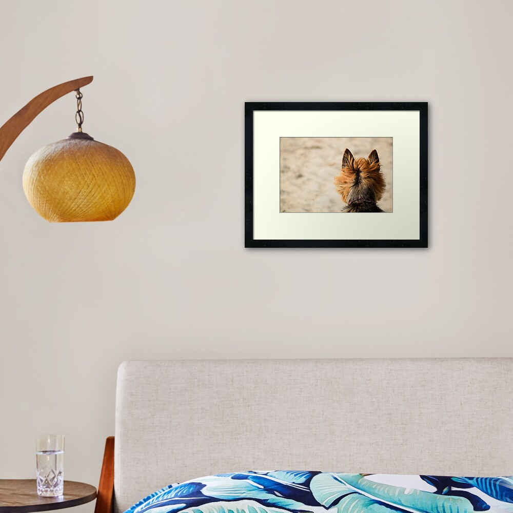 On the Look Out Framed Art Print