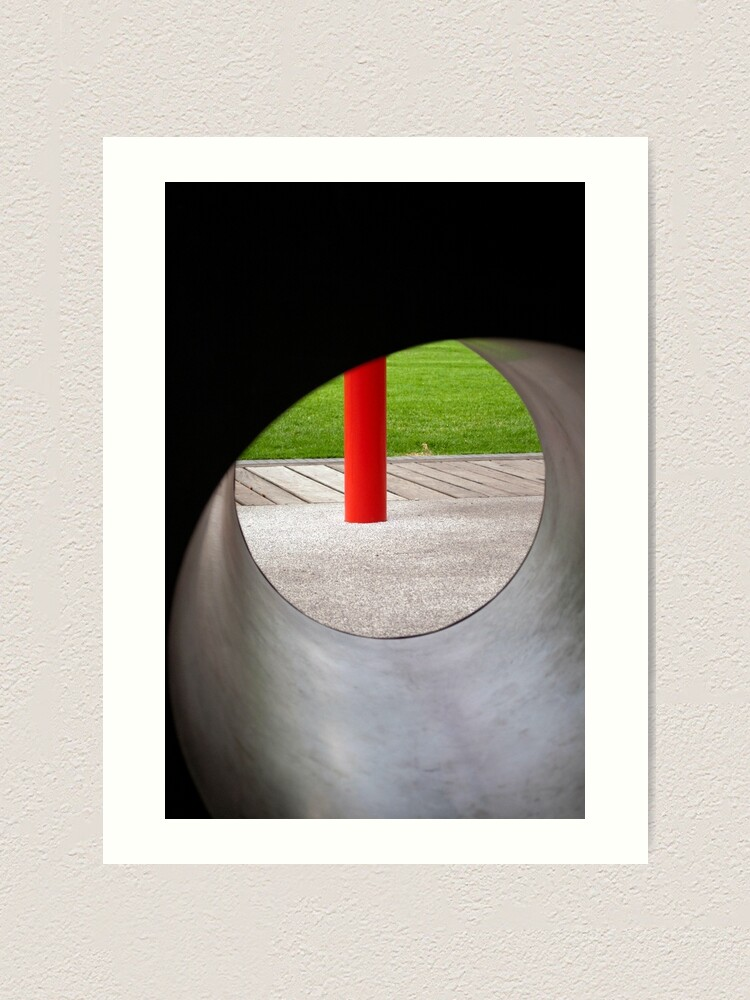 Alternate view of Red One Art Print
