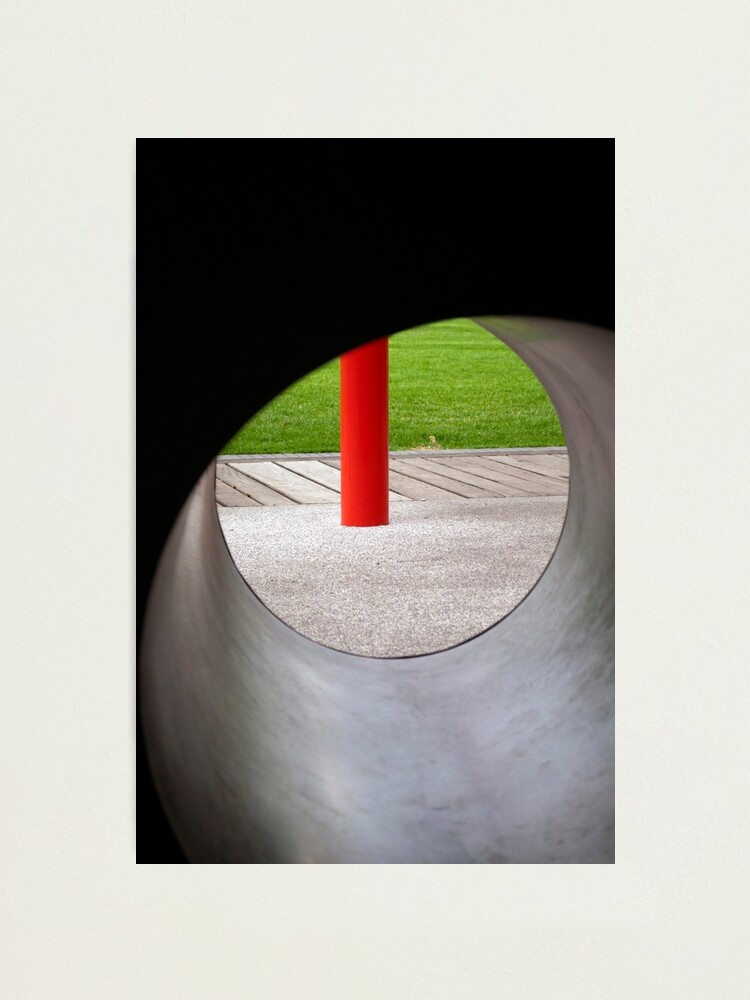 Alternate view of Red One Photographic Print