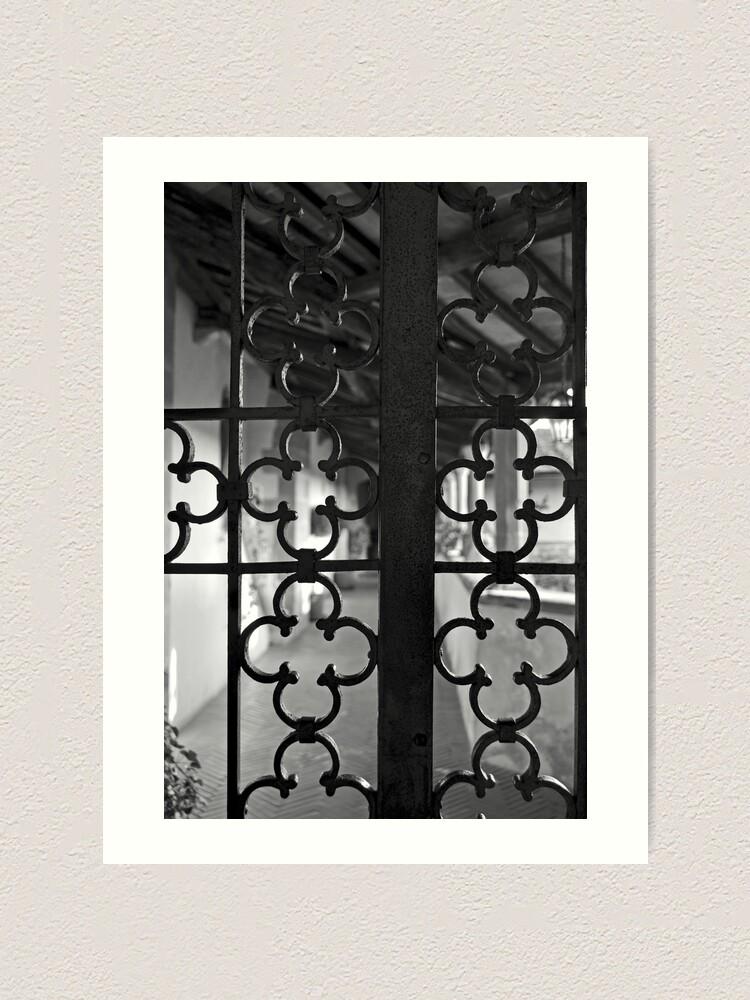 Alternate view of Monastery Gate, Fiesole Art Print