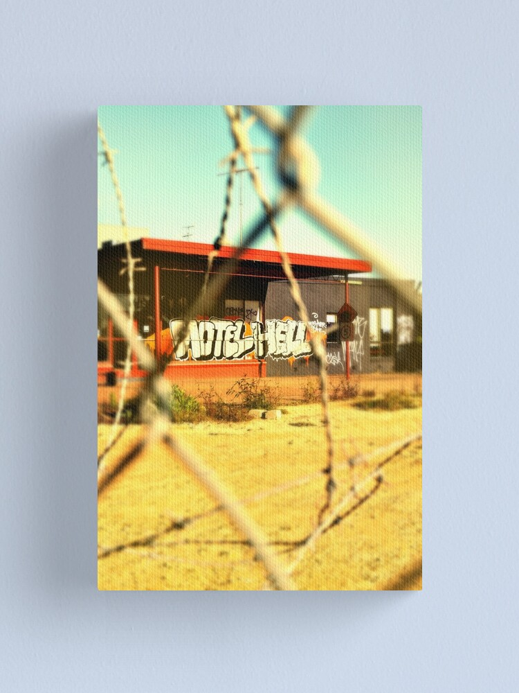 Alternate view of Motel Hell Canvas Print