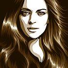 Lindsay Lohan by . VectorInk